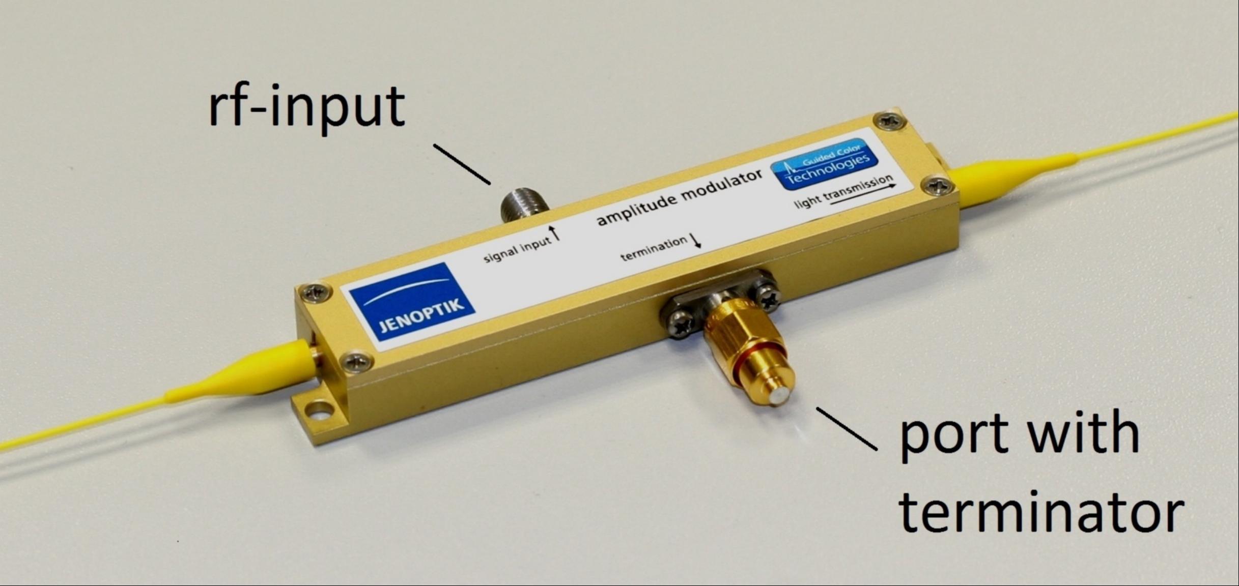 Modulator case (Standard wiring scheme)