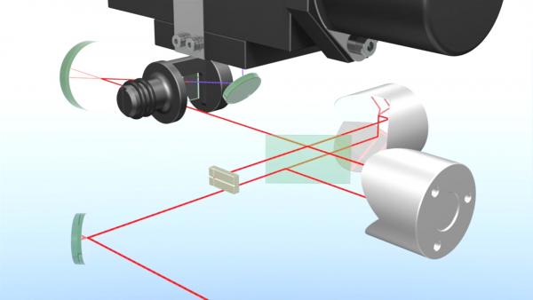 APE自相关仪内部实物图